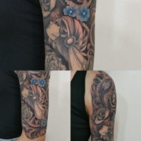 tatuaggio zingara